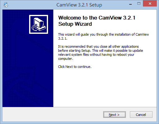 CamView Install for Win
